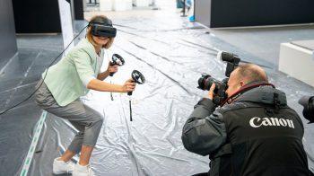 Realización de películas de realidad virtual